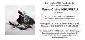 Invitation Marie-Claire HOUMEAU