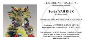 Invitation Sonja VAN DIJK