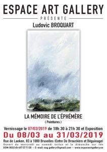 Affiche Ludovic BROQUART