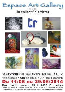 Affiche 3 Un collectif d'artistes de la LIR