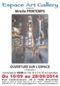 Affiche Mireille PRINTEMPS