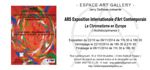 Invitation Ars Exposition Internationale d'Art Contemporain