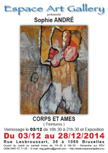 Affiche Sophie Andre