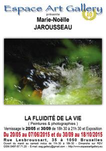 Affiche Marie-Noëlle JAROUSSEAU