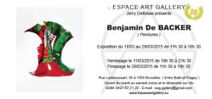 Invitation Benjamin De BACKER