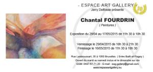 Invitation Chantal FOURDRIN