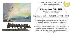 Invitation Claudine GRISEL