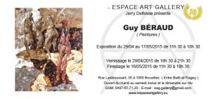 Invitation Guy BÉRAUD