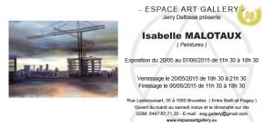 Invitation Isabelle MALOTAUX