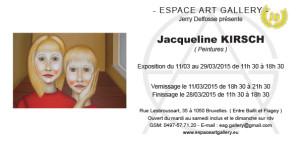 Invitation Jacqueline KIRSCH