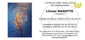 Invitation Liliane MAGOTTE