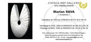 Invitation Marian SAVA black