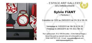 Invitation Sylvie FIANT