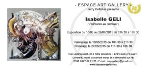 Invitation Isabelle GELI