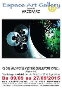 Affiche ARCOFARC