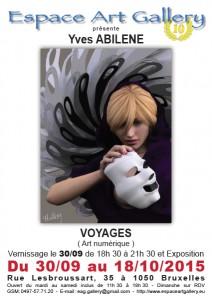 Affiche Yves ABILENE