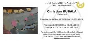 Invitation Christian KUBALA