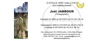 Invitation Joël JABBOUR