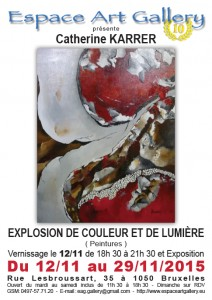 Affiche Catherine KARRER