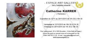 Invitation Catherine KARRER