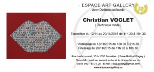 Invitation Christian VOGLET