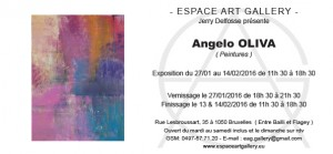 Invitation Angelo OLIVA