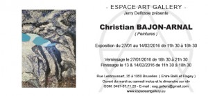 Invitation Christian BAJON-ARNAL