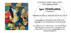 Invitation Igor TCHOLARIA