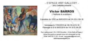Invitation Victor BARROS