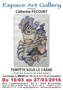 Affiche Catherine FECOURT