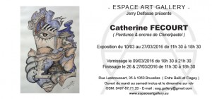 Invitation Catherine FECOURT