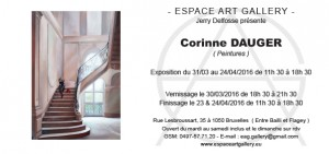 Invitation Corinne DAUGER