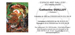Invtation Catherine GUILLUY