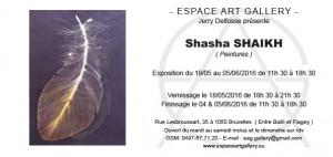 Invitation Shasha SHAIKH