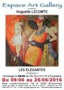 Affiche Huguette LECOMTE