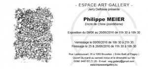 Invitation Philippe MEIER