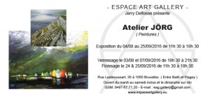 Invitation Atelier JÖRG