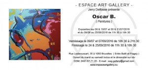Invitation Oscar B.