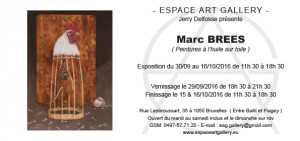Invitation Marc BREES