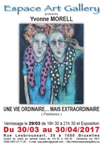 Affiche Yvonne MORELL