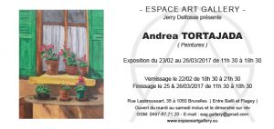 Invitation Andrea TORTAJADA