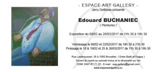Invitation Edouard BUCHANIEC