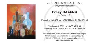 Invitation Fredy HALENG
