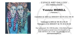 Invitation Yvonne MORELL
