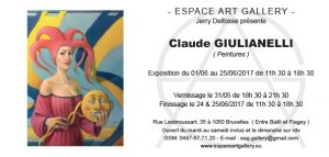 Invitation Claude GIULIANELLI