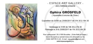 Invitation Ophira GROSFELD