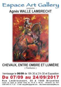 Affiche Agnès WALLE LAMBRECHT