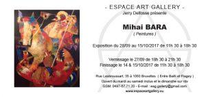 Invitation Mihai BARA