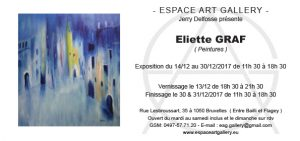 Invitation Eliette GRAF