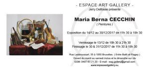 Invitation Maria Berna CECCHIN